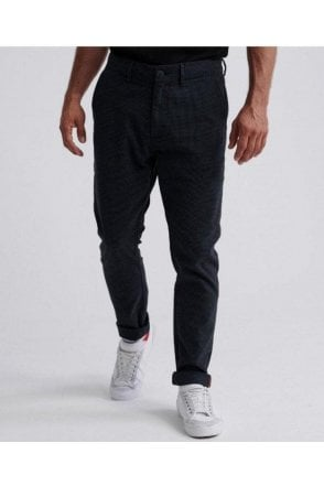 Edit Slim Chino Blue And Black Grindle
