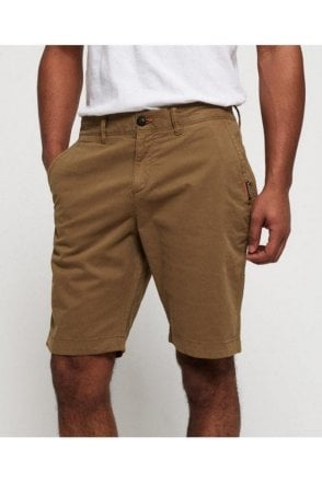 International Slim Chino Lite Short Bronze Khaki