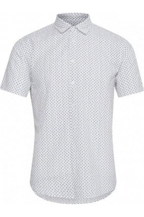 Anton Shirt S/s Bright White