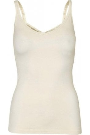 Seamless Vest Cream
