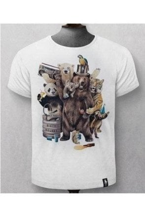 Party Animals Tee White