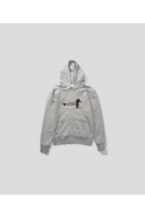 Edmmond Studios Duck Hunt Hoodie Grey Melange