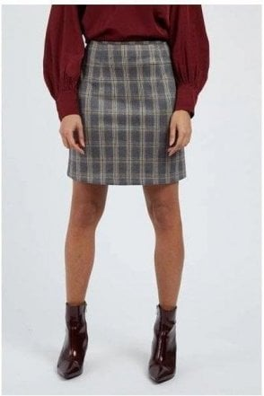 Clan Check Mini Skirt Multi