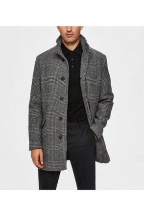 Selected Slhmorrison Wool Coat Dark Grey
