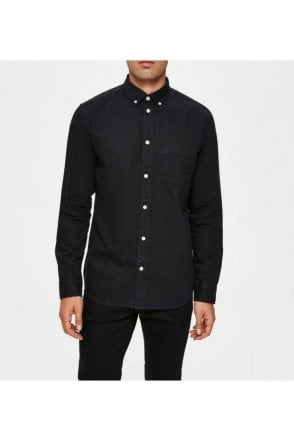 Selected Slhregross Shirt Black
