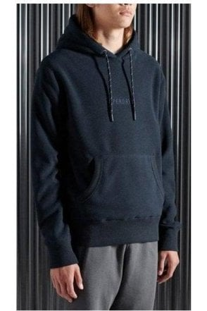 Superdry Polar Fleece Hood Nautical Navy