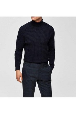 Selected Slhcarlos Roll Neck Sky Captain
