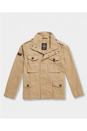 Superdry Field Jacket Dress Beige