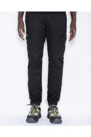Schott Fitted Cargo Pants Black