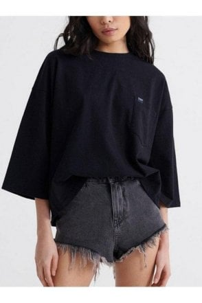 Coded Pocket Top Black