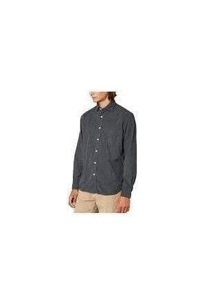 Hartford Paul Pat Woven Shirt Graphite