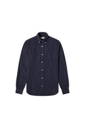Hartford Pal Woven Shirt Dark Blue