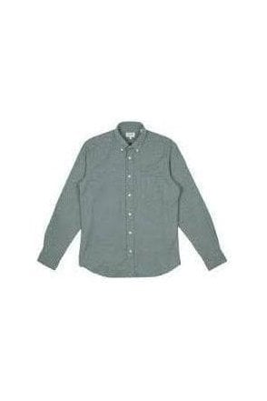 Hartford Penn Woven Shirt Blue/light Grey