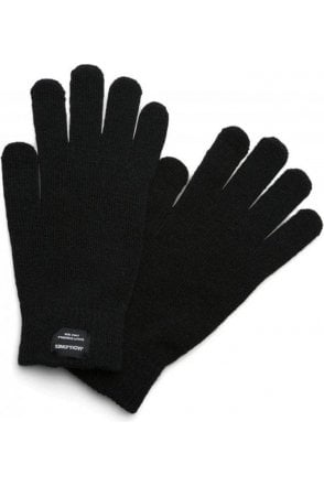 Jack And Jones Jachenry Knit Gloves Black