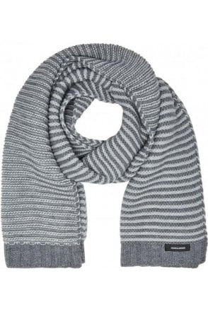 Jack And Jones Jacpete Scarf Grey Melange