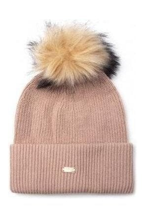 Heritage Ribbed Beanie Camel