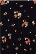 ICHI Floral Dress Black