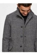 SELECTED HOMME Selected Slhmorrison Wool Coat Dark Grey