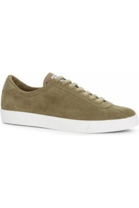 Sport Suede Trainer Truffle