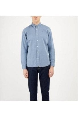 Pretty Green Edward Shirt Blue