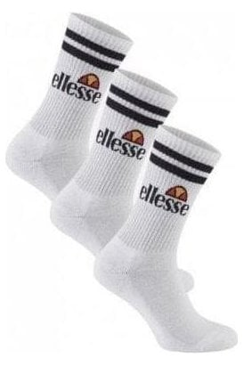 Pullo 3pk Sock White
