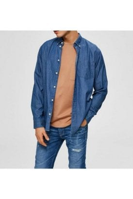 Slhregperfect-larson Light Blue Denim