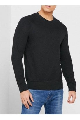 Slhrami Crew Sweat Black