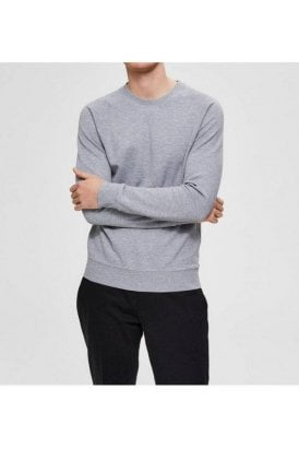 Slhrami Crew Sweat Grey Melange