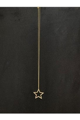 Necklace Gold Multi Star