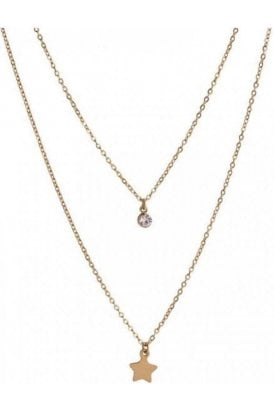 Necklace Gold Dainty Star