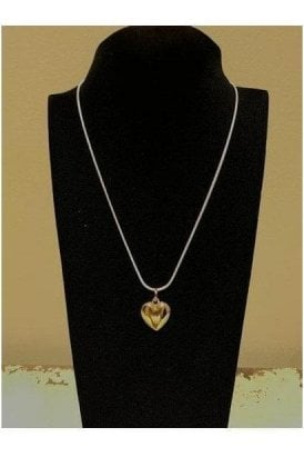 Necklace Multi Gold Heart