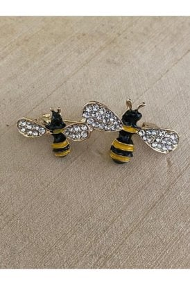 Bee Brooch Gold