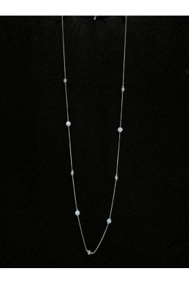 Necklace Gunmetal Beaded