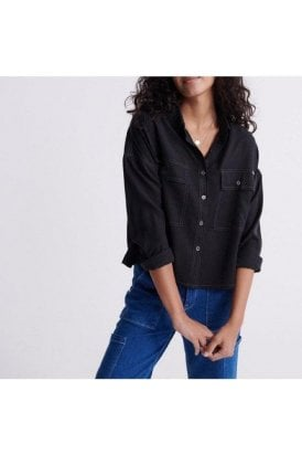 Desert Oversized Shirt Black