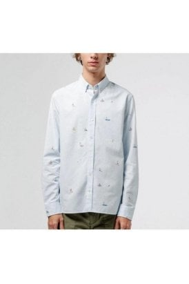 Edmmond Studios Shirt Light Blue