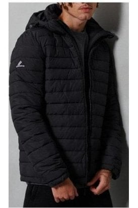 Superdry Hooded Fuji Jacket Black