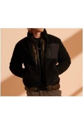 Superdry Nyc Sherpa Jacket Black