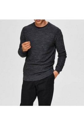 Selected Slhbuddy Crew Neck Antracit