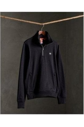 Superdry Collective Track Top Black