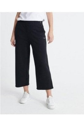 Edit Wide Leg Jogger Black