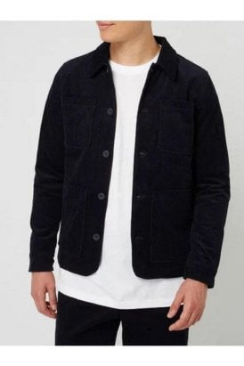 Casual Friday Jalte Corduroy Jacket Navy Blazer
