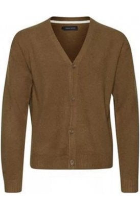 Casual Friday Klaes 0006 Knit Cardigan Kangaroo