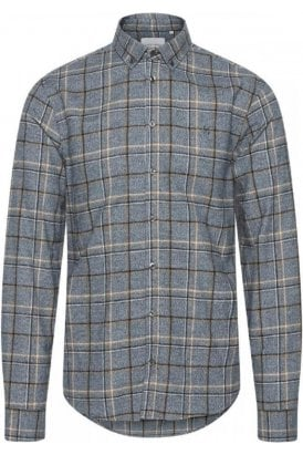 Casual Friday Anton Bd Ls Shirt Pewter