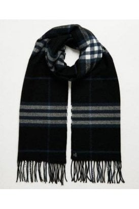 Nyc Box Scarf Black Check