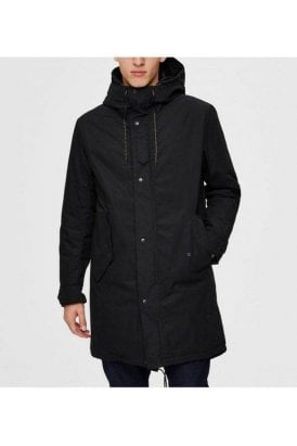 Selected Slhsustainable Iconics Parka Black
