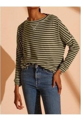 Nyc Stripe Ls Top Army
