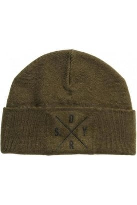 Surplus Silicone Logo Beanie Surplus Khaki